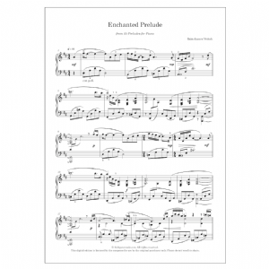 Enchanted Prelude (No. 5 from 15 Preludes for piano)   DIGITAL -  Iain James Veitch